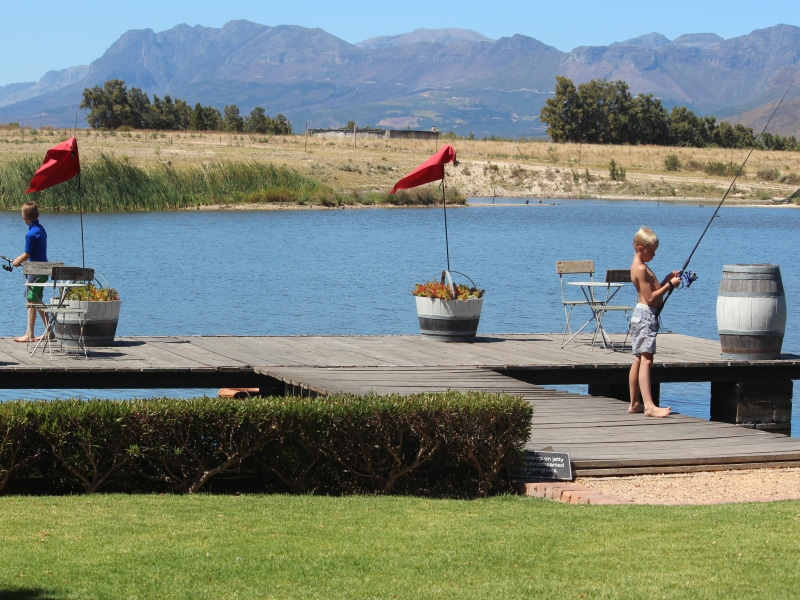 Lakeview restaurant winelands | picnic hampers | event venue | Le Bonheur adventures | bass fishing