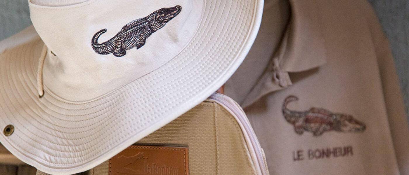 Le Bonheur shop | crocodile leather | le bonheur adventures