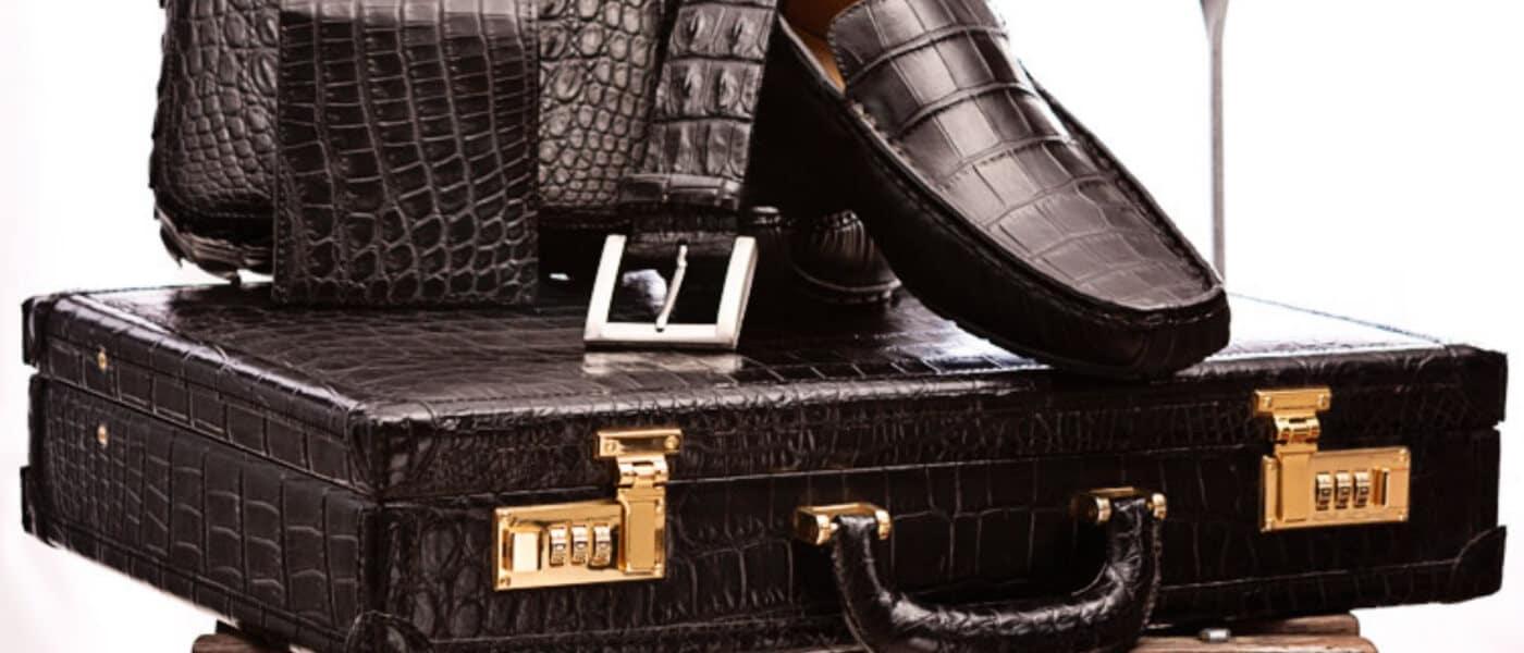Le Bonheur leather products for men